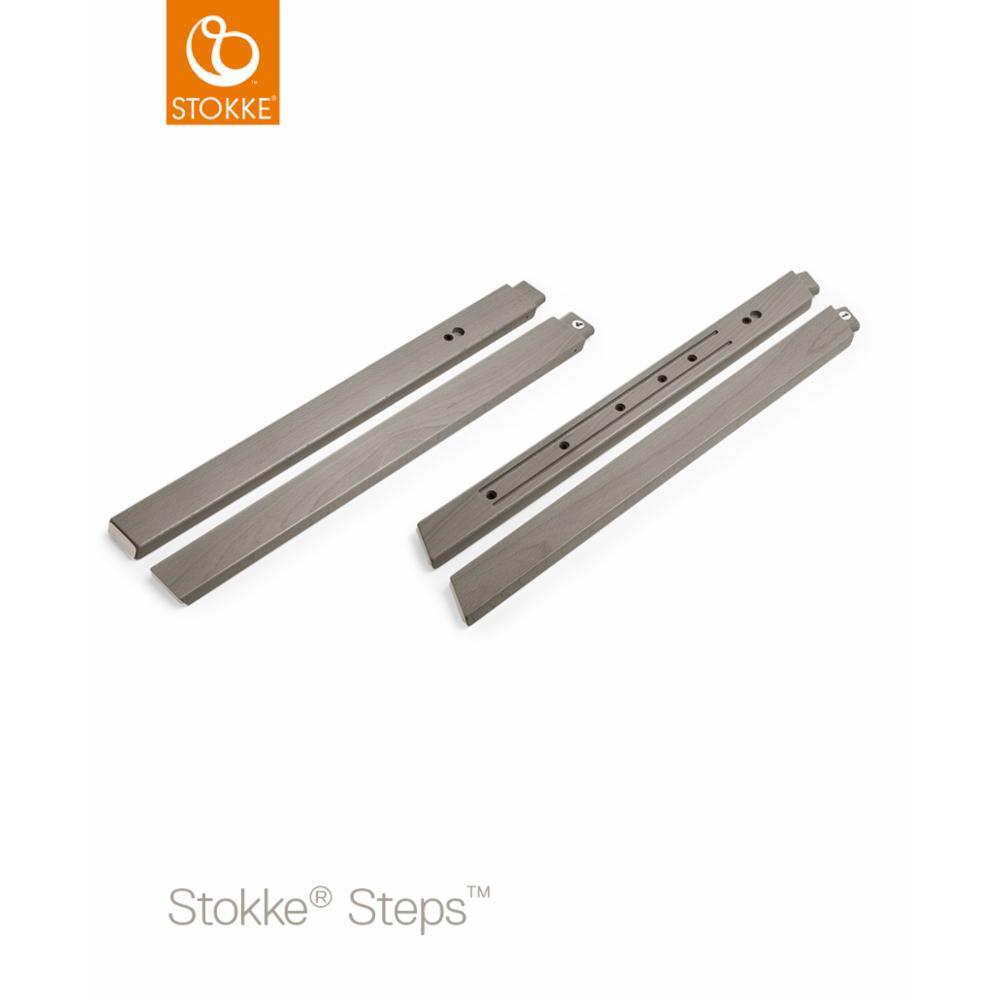 Syöttötuoli Stokke Steps Legs Beech Wood, Hazy grey