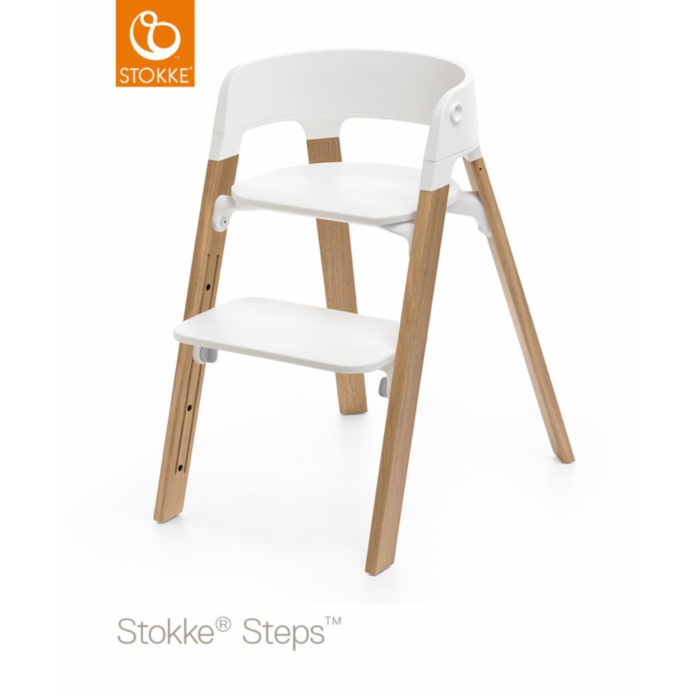 Stokke Steps chair seat, Valkoinen