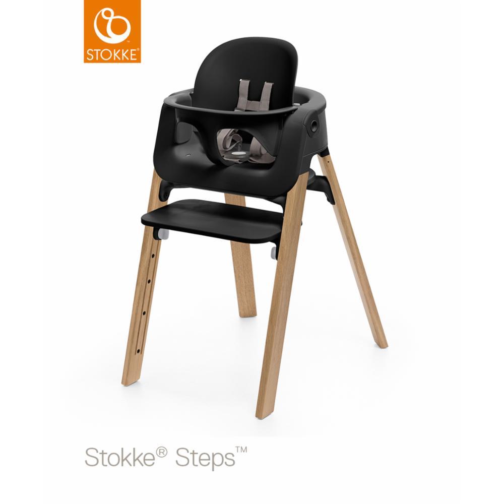 Stokke Steps Baby set, Musta