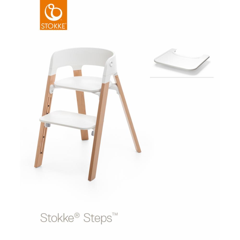 Stokke Steps Tray, Valkoinen
