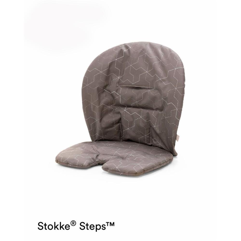 Stokke Steps Cushion, Geometric grey
