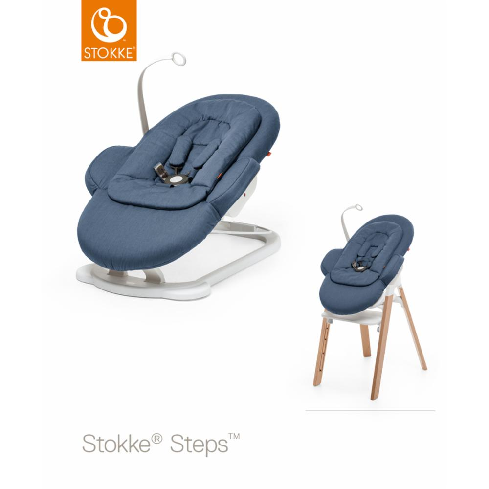 Babysitteri Stokke Steps Bouncer, Blue
