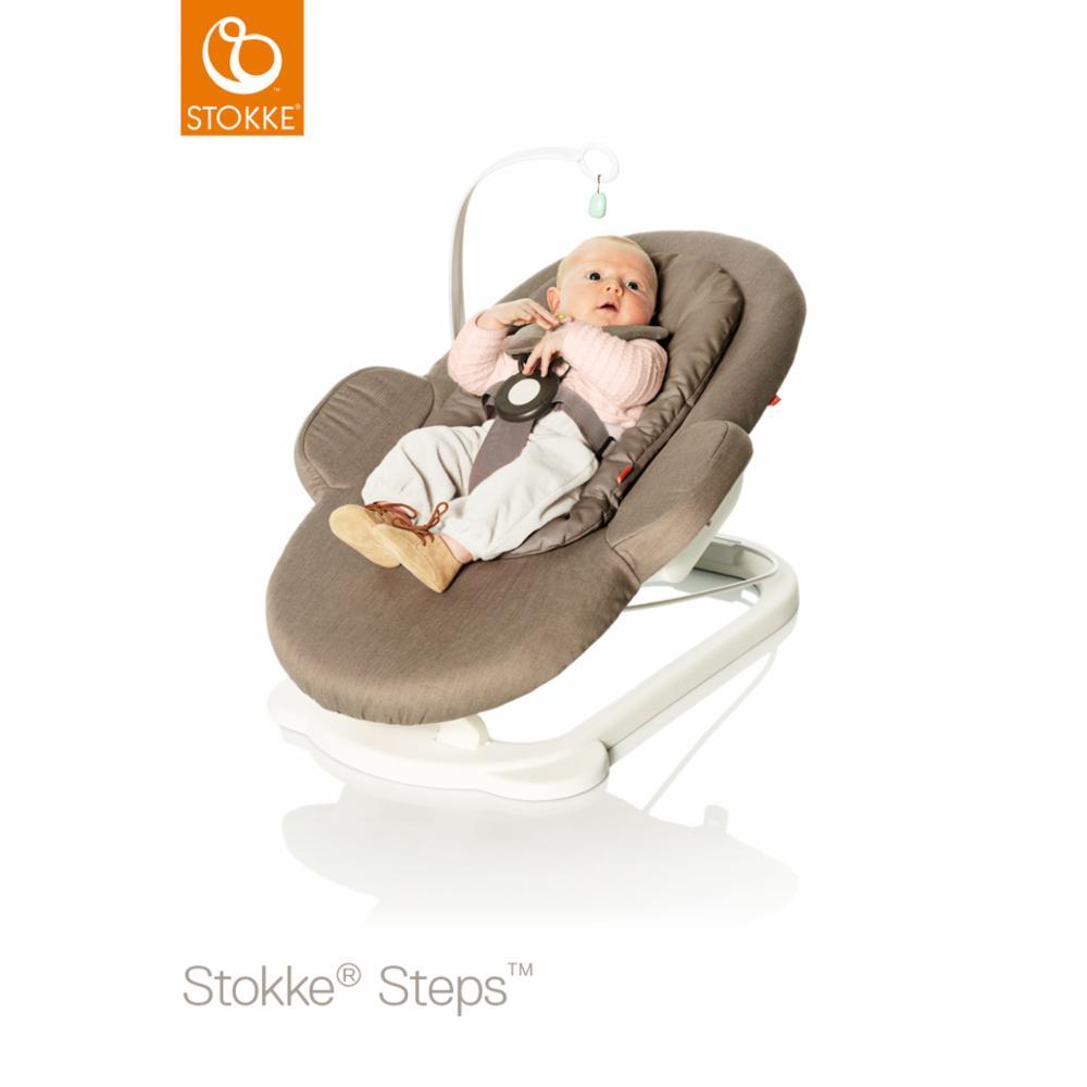 Babysitteri Stokke Steps Bouncer, Greige