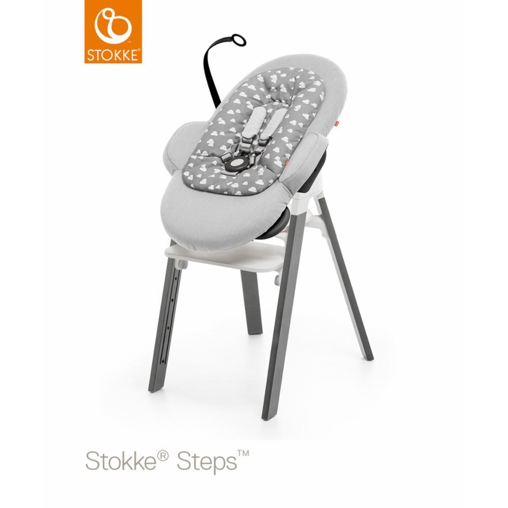 Babysitteri Stokke Steps Bouncer, Grey Clouds