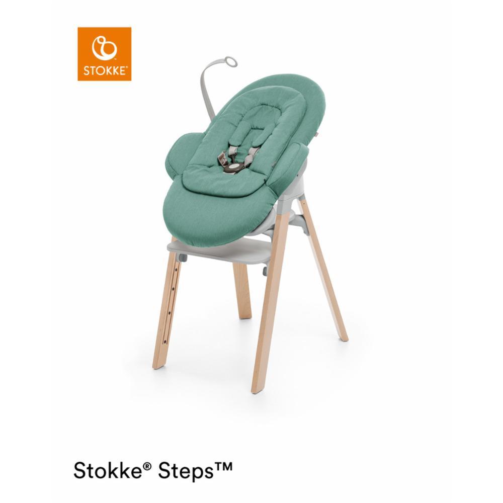 Babysitteri Stokke Steps Bouncer, cool jade