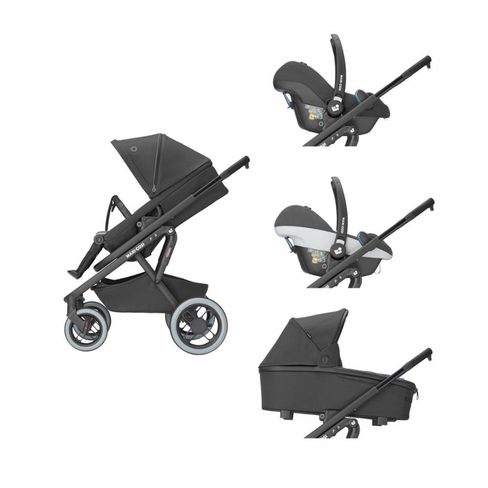 Lastenrattaat Maxi-Cosi Lila XP, Essential Black