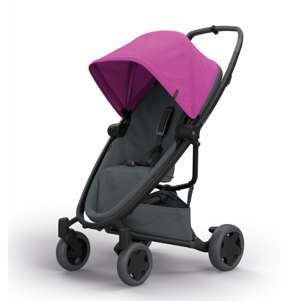 Lastenrattaat Quinny Zapp Flex Plus, Pink on Graphite