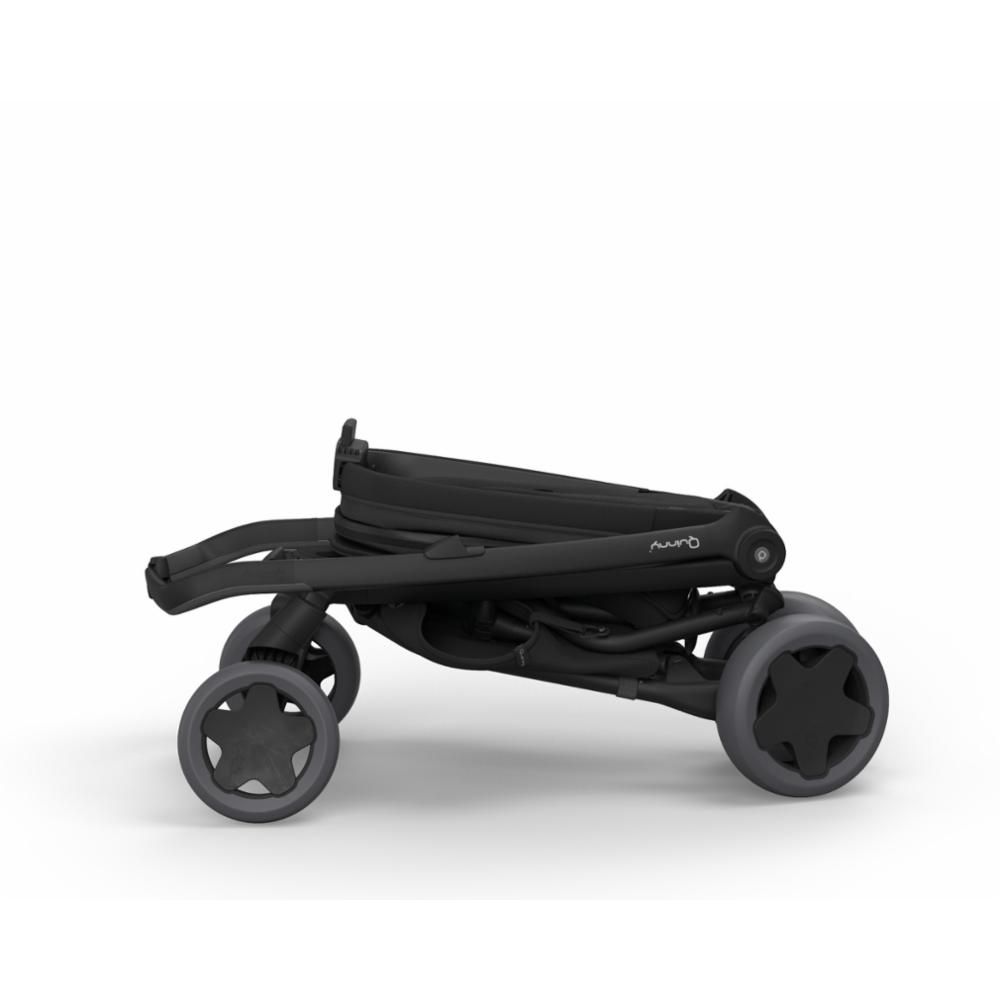 Lastenrattaat Quinny Zapp Flex Plus, Black on Black