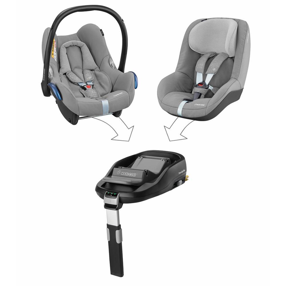 Turvakaukalo Maxi-Cosi CabrioFix 0+, Nomad Grey