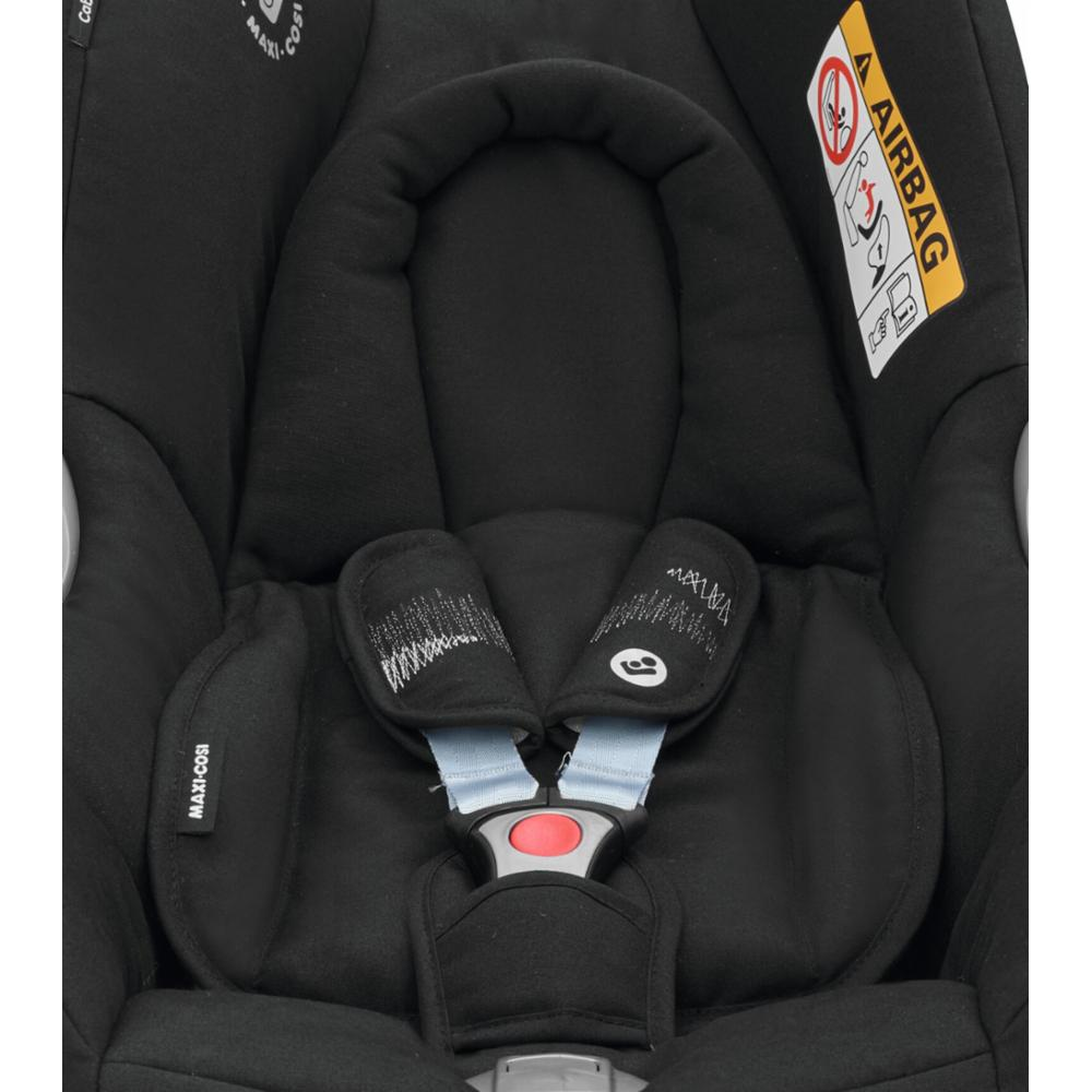 Turvakaukalo Maxi-Cosi CabrioFix 0+, Frequency Black
