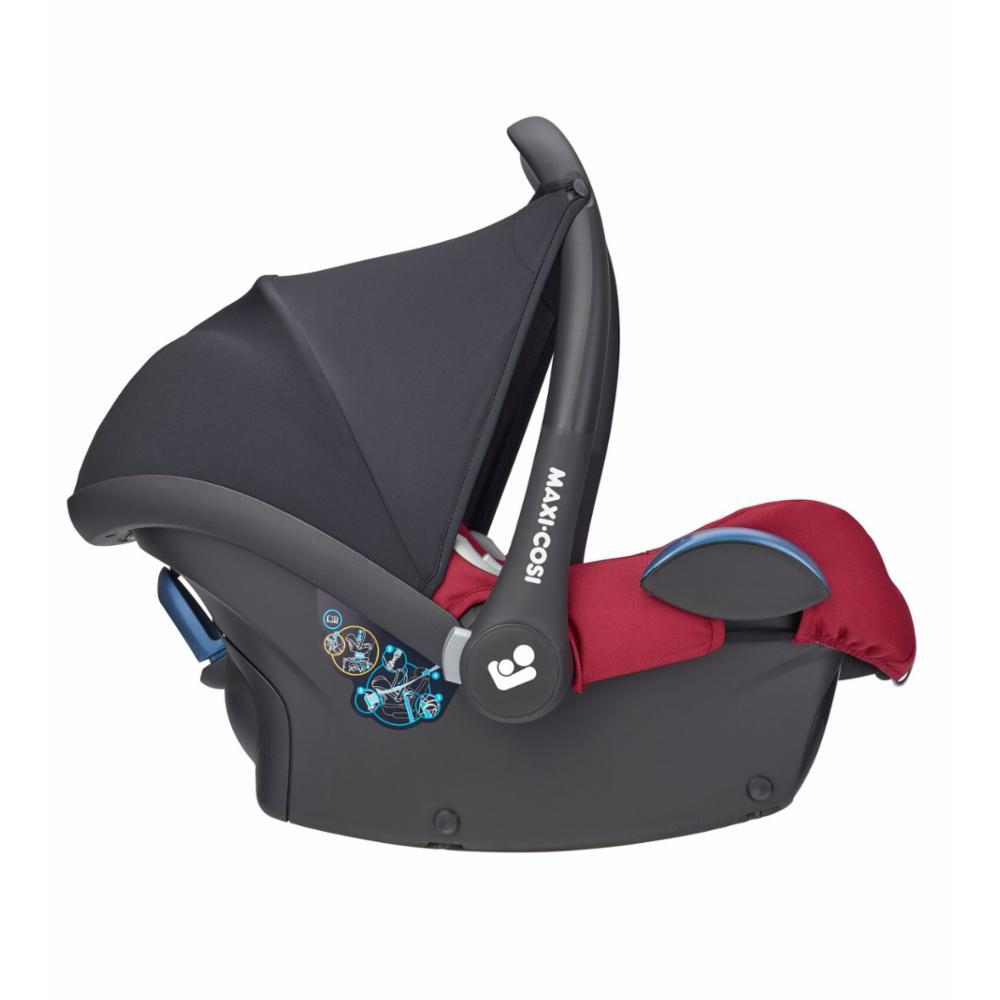 Turvakaukalo Maxi-Cosi CabrioFix 0+, Essential Red