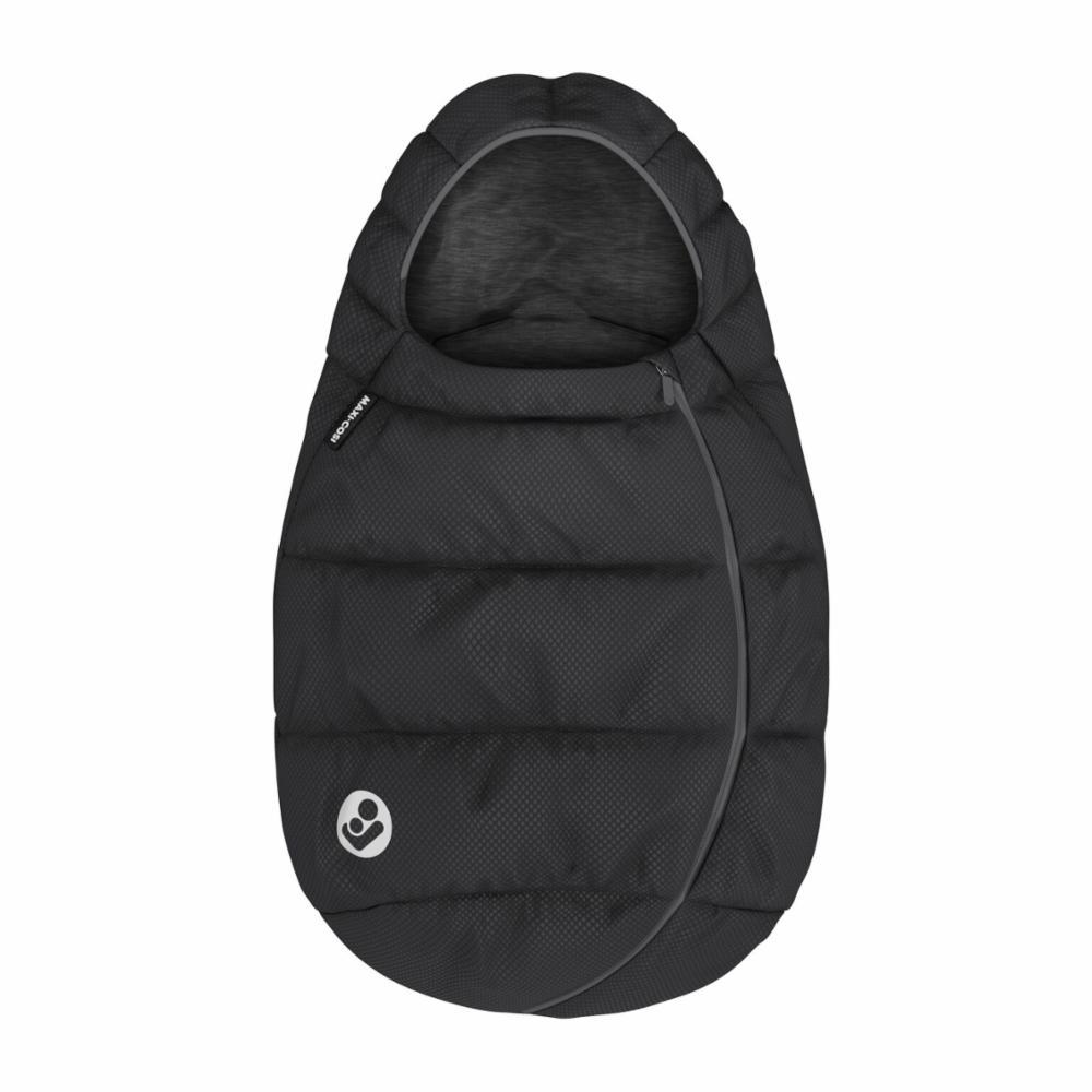 Maxi-Cosi Lämpöpussi Kaukaloon, Essential Black