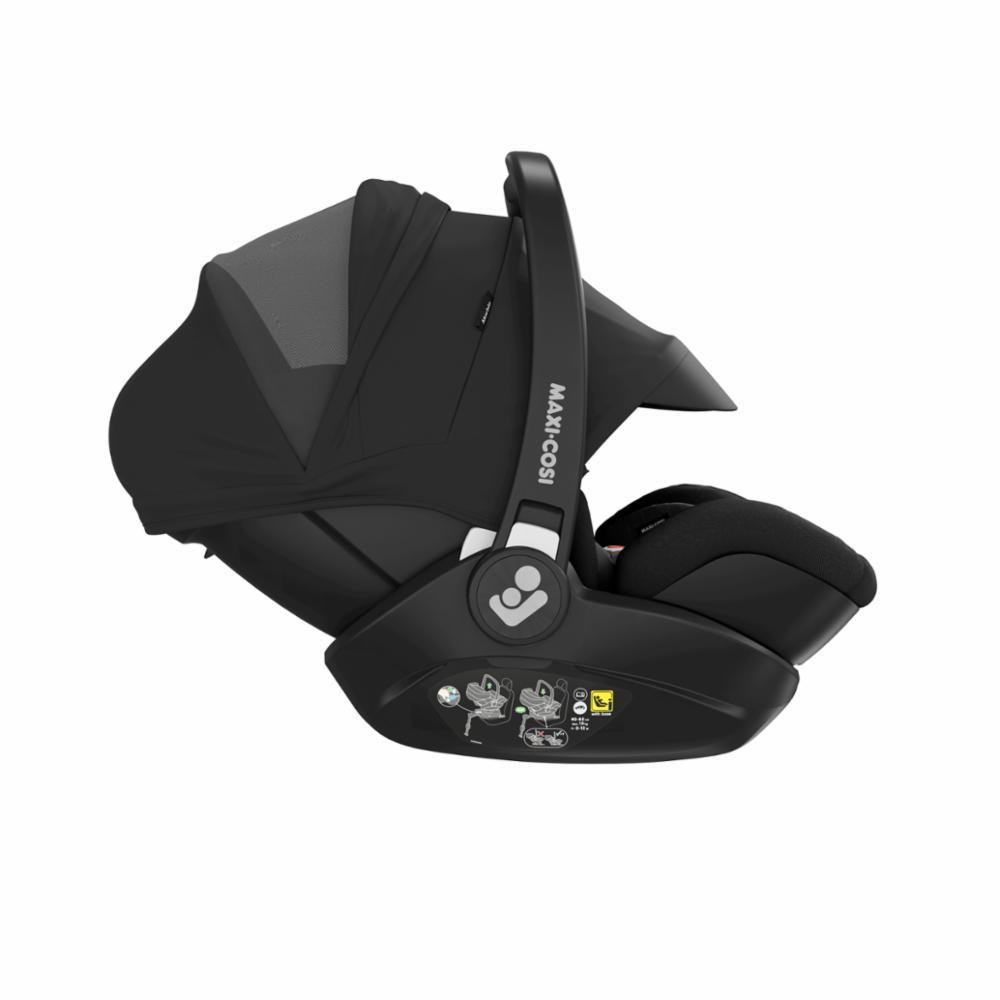Maxi-Cosi Marble I-Size+Jalusta, Essential Black