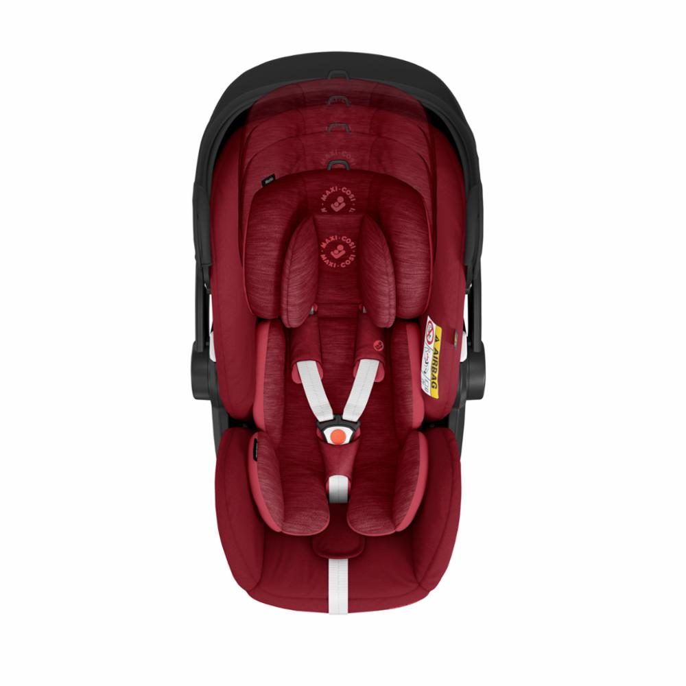 Maxi-Cosi Marble I-Size+Jalusta, Essential Red