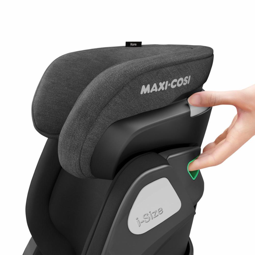 Turvavyöistuin Maxi-Cosi Kore i-Size, Authentic Black