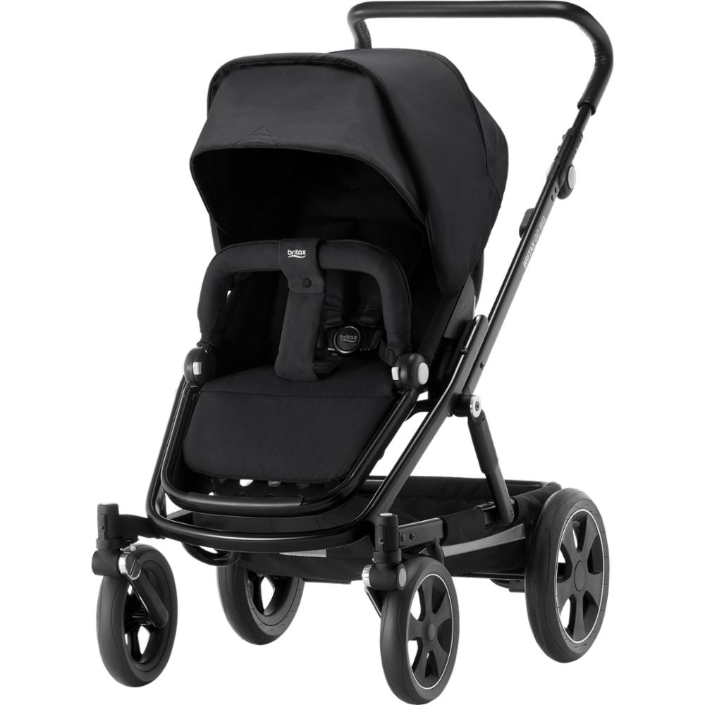 Lastenrattaat Britax Go BIG 2, Cosmos Black