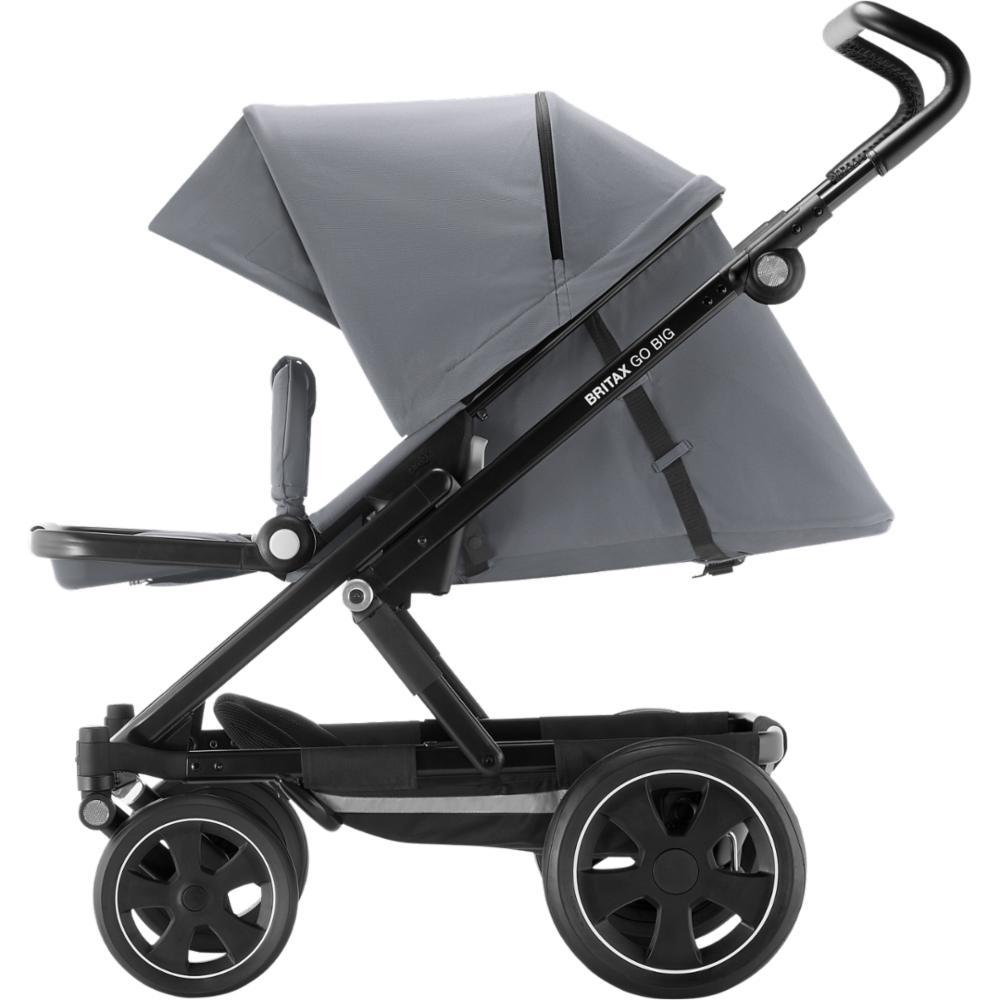 Lastenrattaat Britax Go BIG 2, Steel Grey