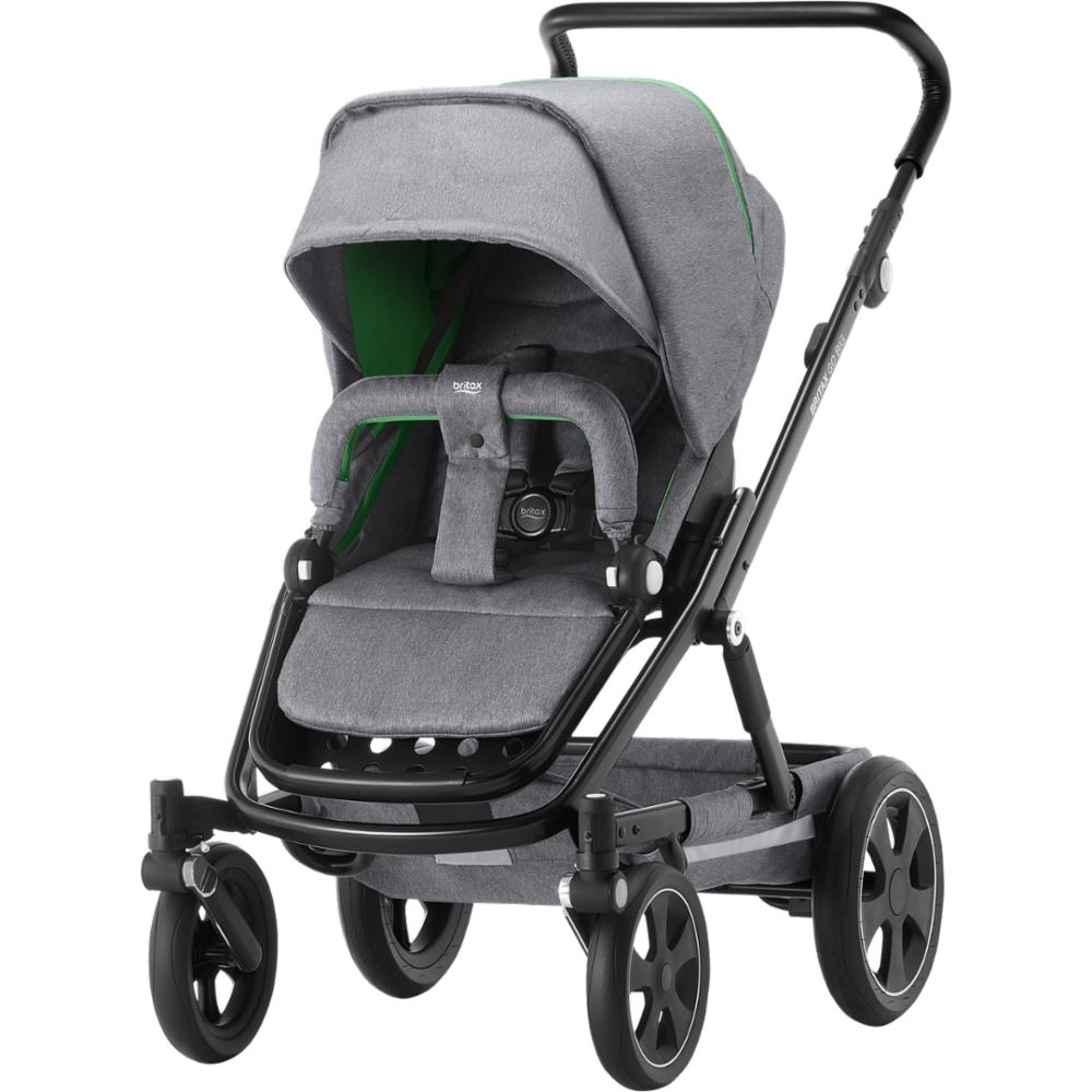 Lastenrattaat Britax Go BIG 2, Dynamic Grey