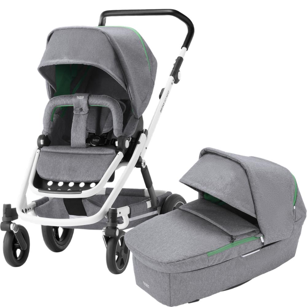 Lastenvaunu Britax Go NEXT 2, Dynamic Grey