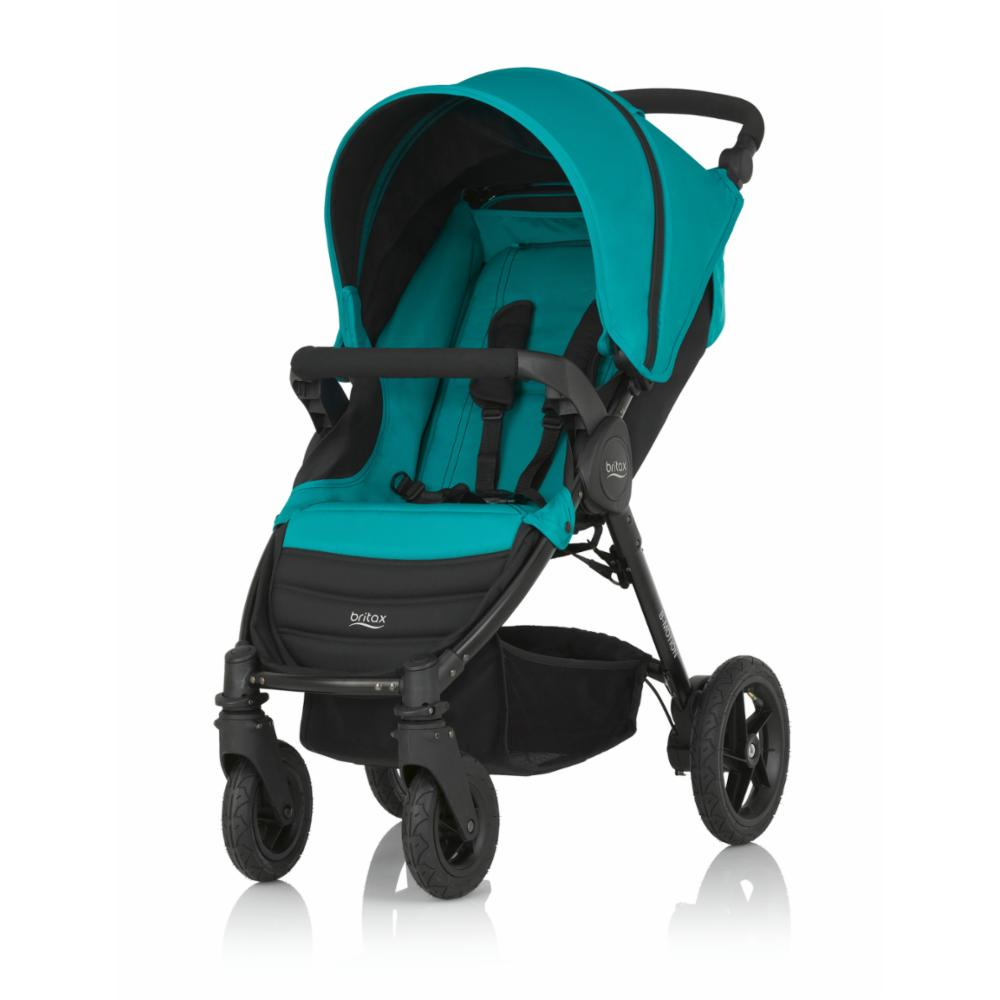 Lastenrattaat Britax Motion 4, Lagoon Green