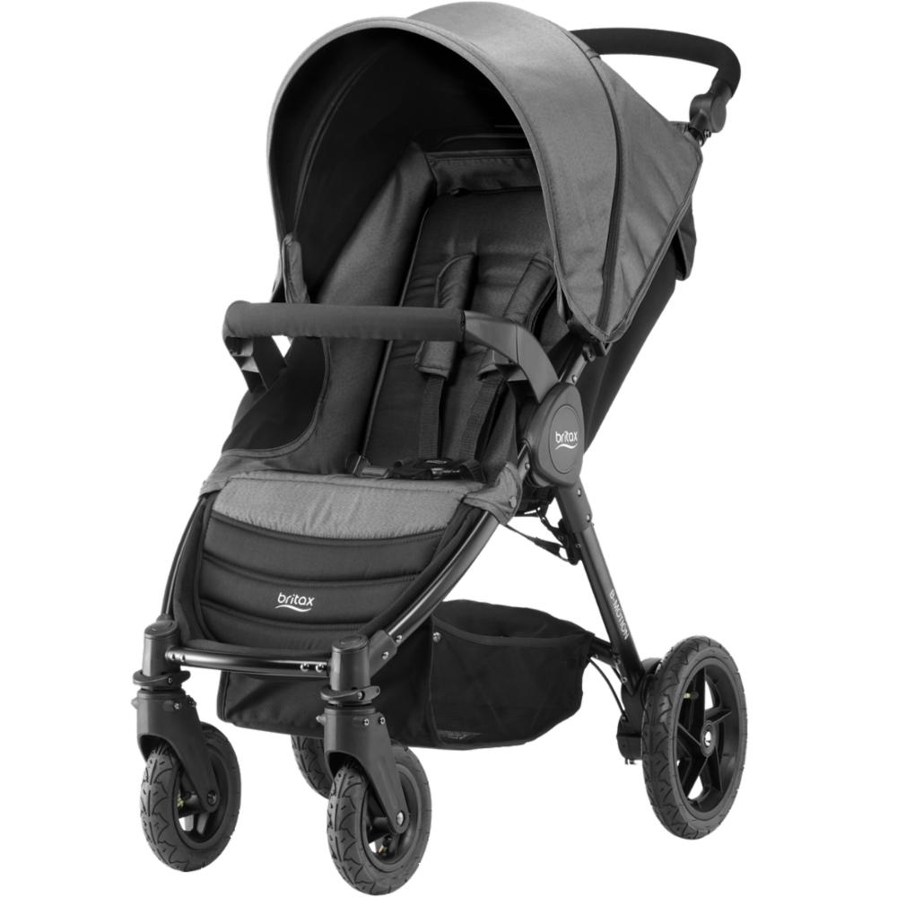 Lastenrattaat Britax Motion 4, Black Denim