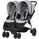 Kaksostenrattaat Britax B-Agile DOUBLE, Steel Grey