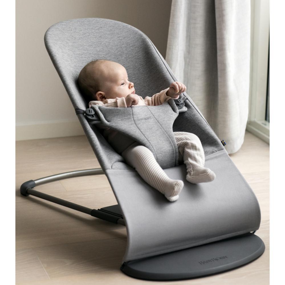 Baby Björn Babysitteri Bliss, Light Grey 3D Jersey