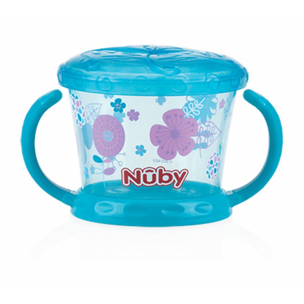 Nuby Snack Muki kannella Design, SININEN