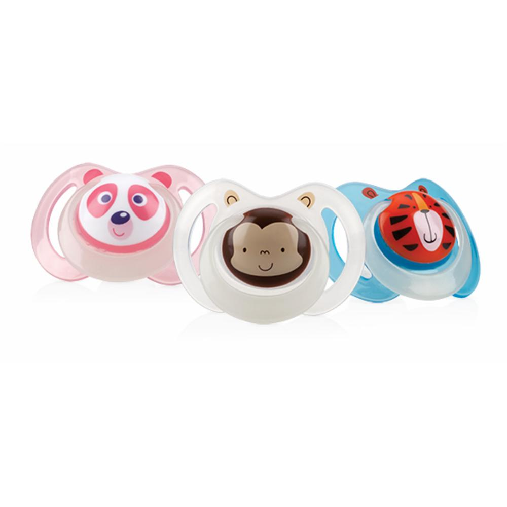 Nuby Tutti Glow in the Dark Oval, 6-36kk