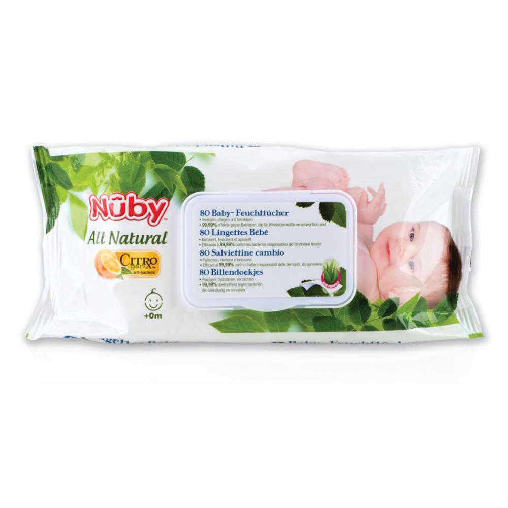 Citroganix Vauvan Puhdistuspyyhe 80kpl