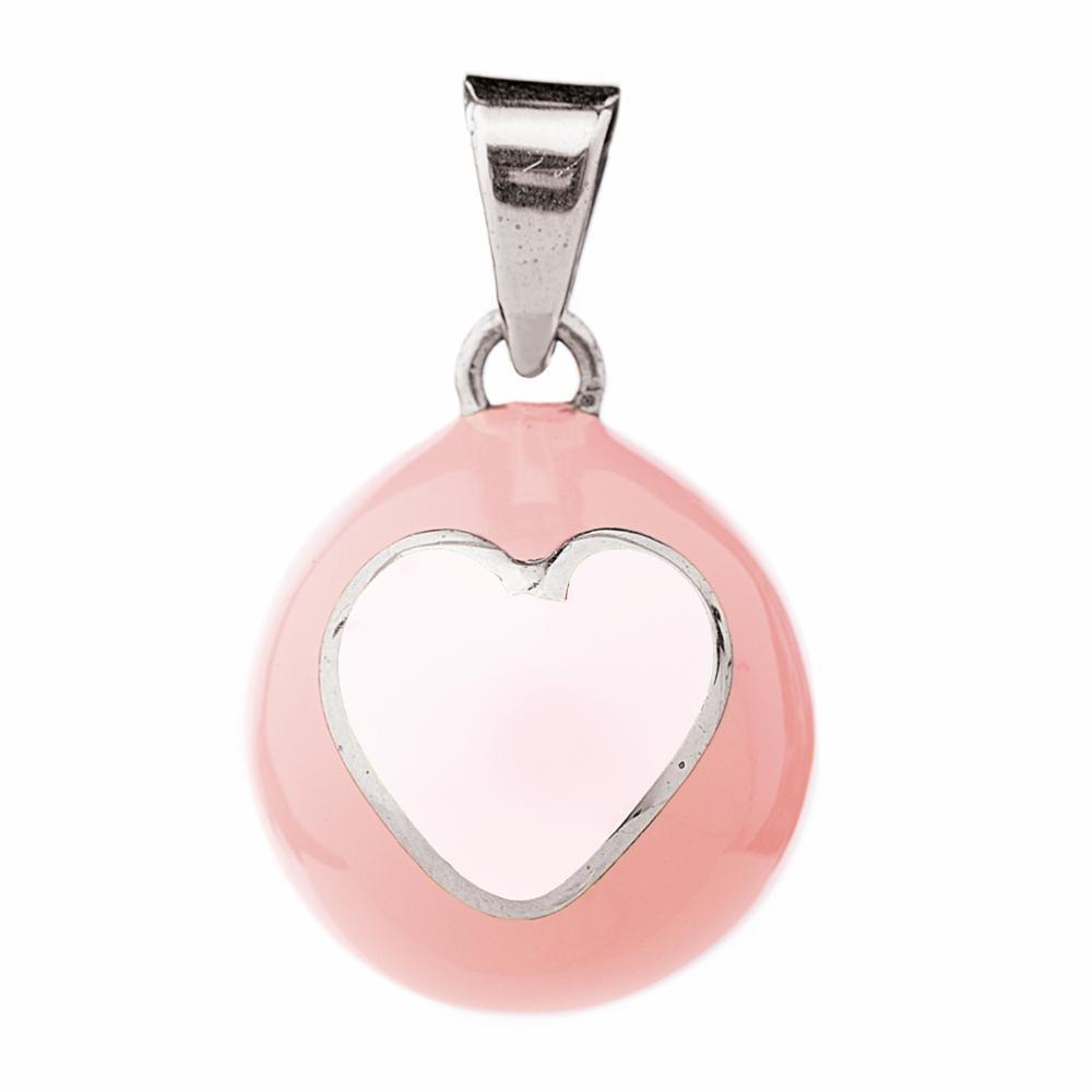 BOLA Äitiyskoru VK940 Pink white heart