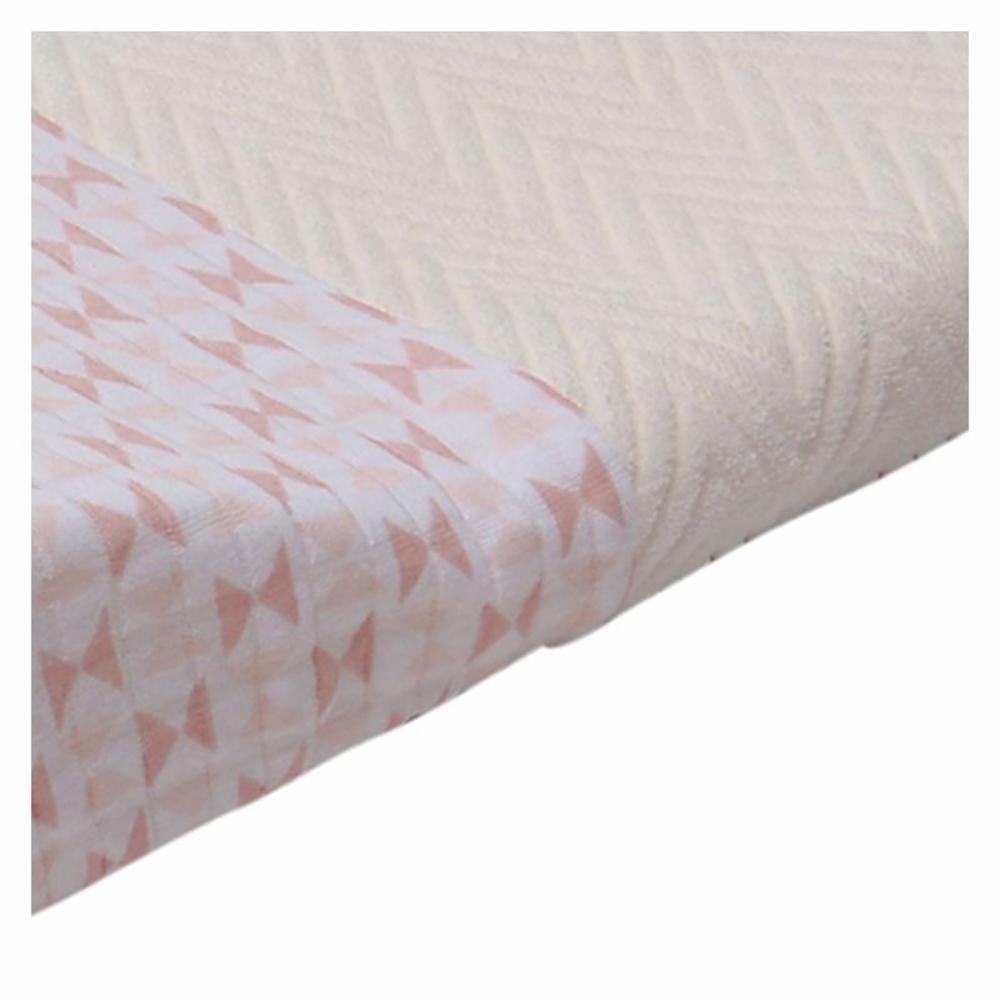 Hoitoalustan suoja Lodger Changer Cotton, Blush vaaleanpunainen