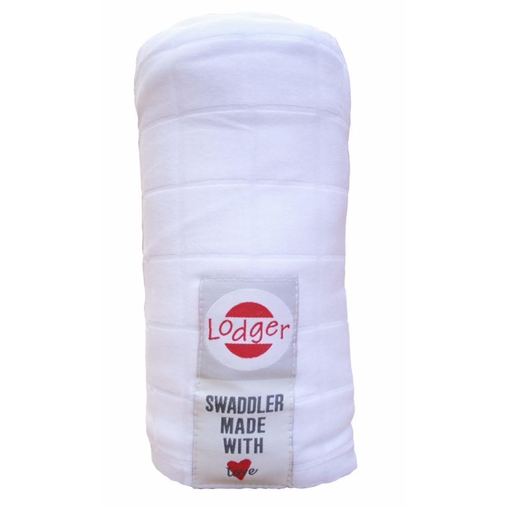 Lodger Swaddler Harso 120*120, Valkoinen