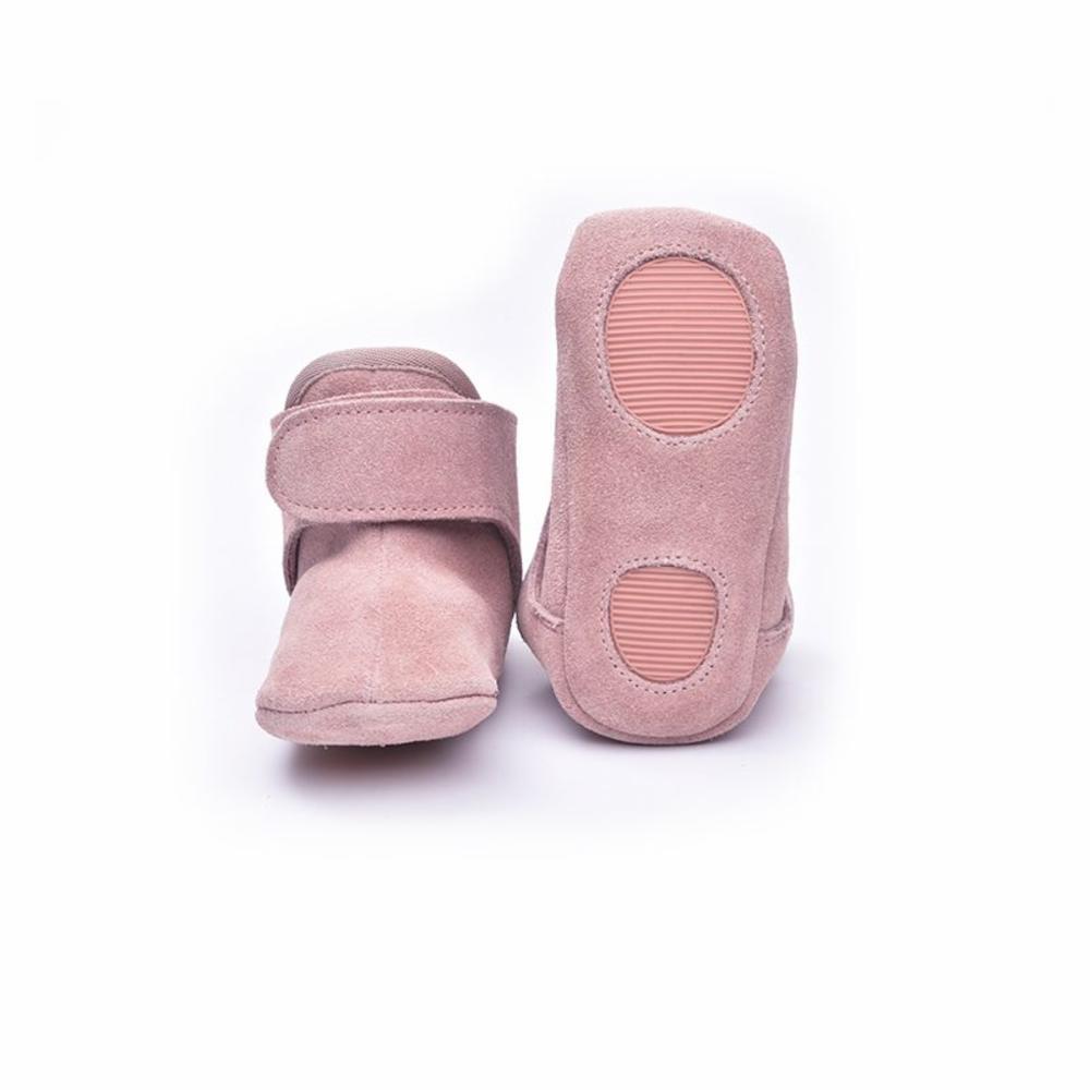 Lodger Nahka Tossut, Vaaleanpunainen, 3-6kk
