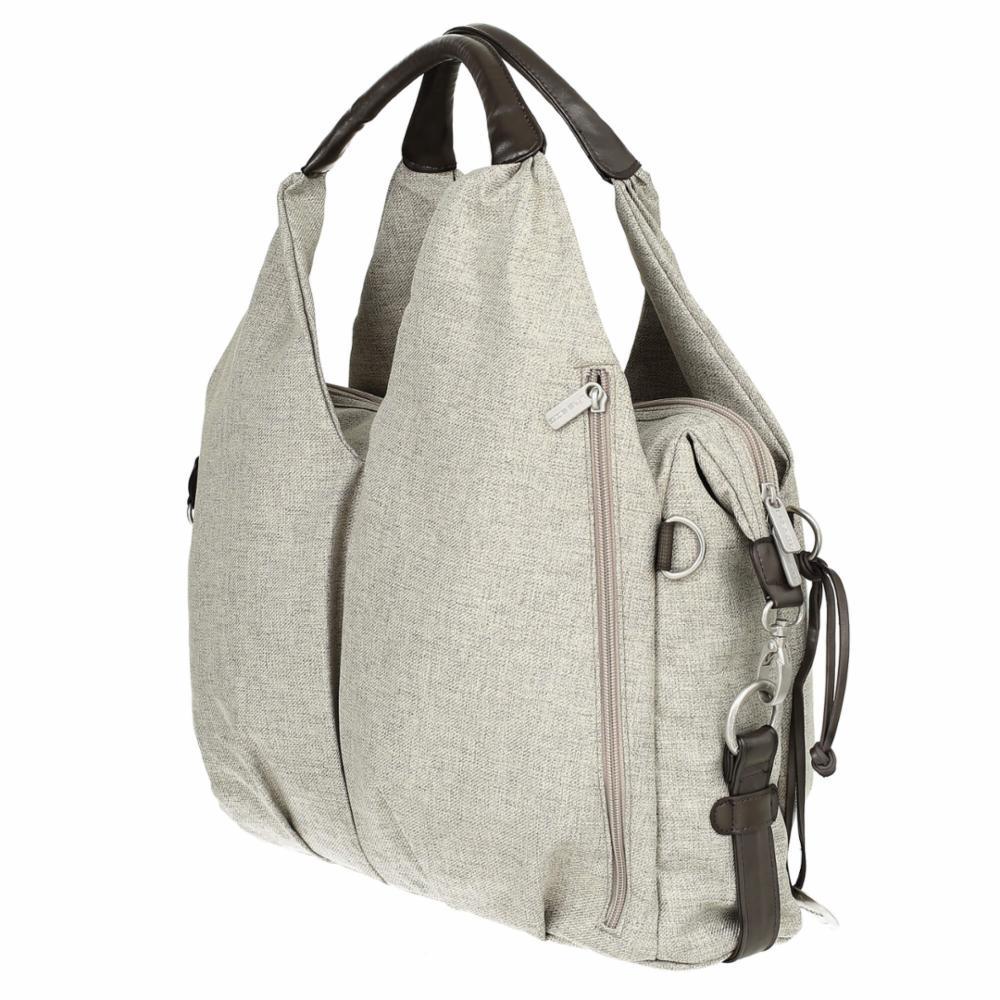 Hoitolaukku Lässig Green Neckline Bag, Choco Mélange