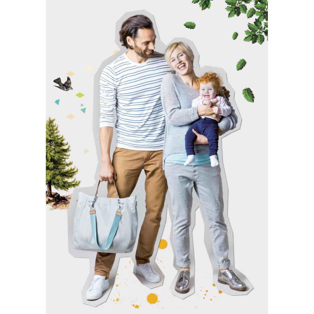 Hoitolaukku Lässig Mix n Match Bag, Light Grey