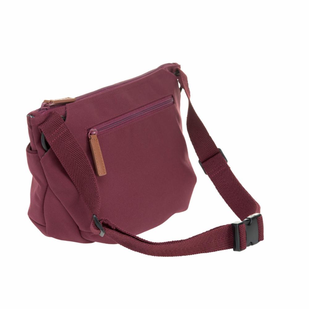 Hoitolaukku Lässig Buggy Bum Bag, Burgundy