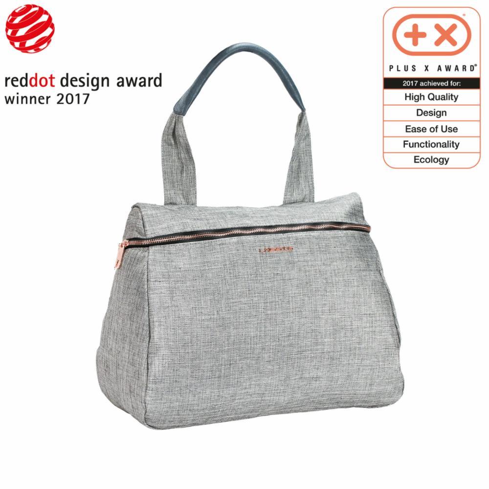 Hoitolaukku Lässig Glam Rosie Bag, Anthracit Glitter