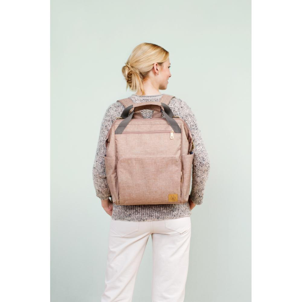 Hoitolaukku Lässig Glam Goldie Backpack, Rose