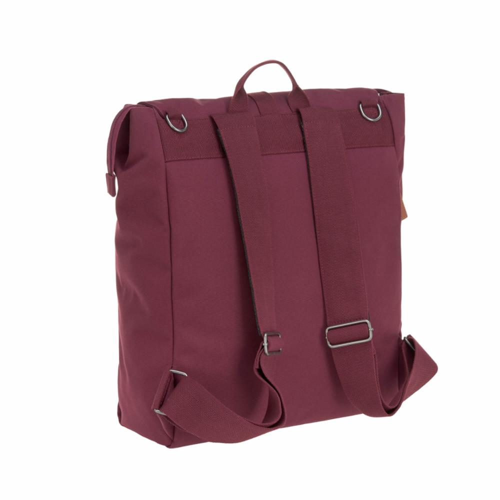 Hoitolaukku Lässig Adventure Backpack, Burgundy