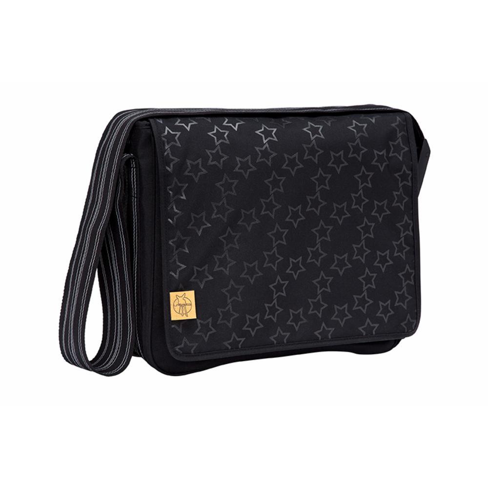 Hoitolaukku Lässig Messenger Bag, Refl. Black