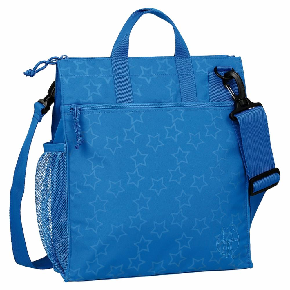 Hoitolaukku Lässig Casual Buggy Bag, Refl. Blue