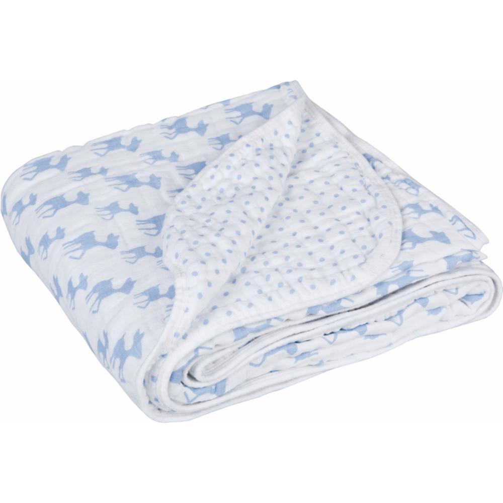 Vauvan huopa Lässig Cozy Blanket, Lela Light Blue