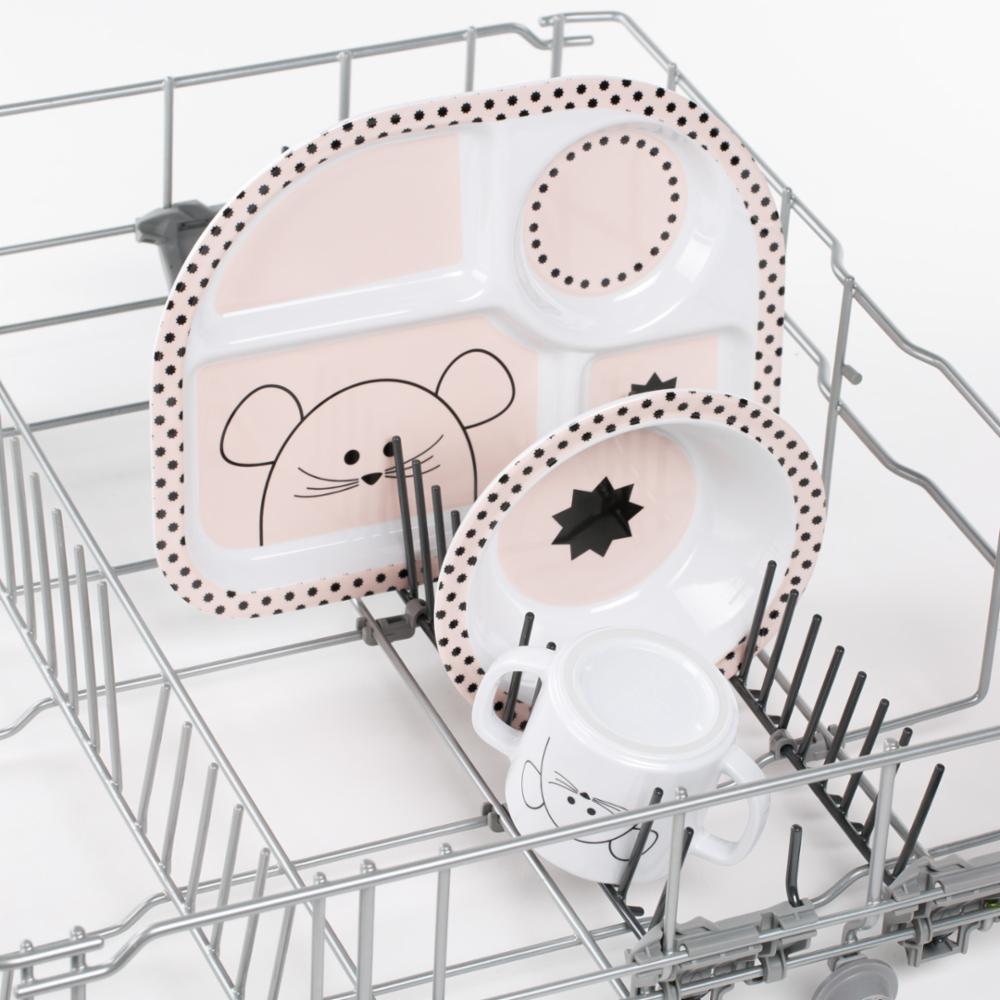 Lässig Melamiini Astiasetti, Little Chums Mouse