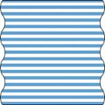 Lässig Twister Baby, Stripe Bright Blue