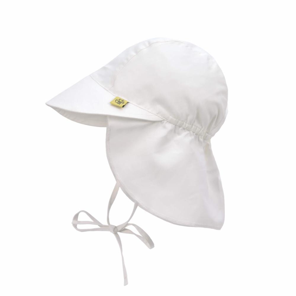 Lässig UV-hattu lipalla, Valk, 0-6 kk