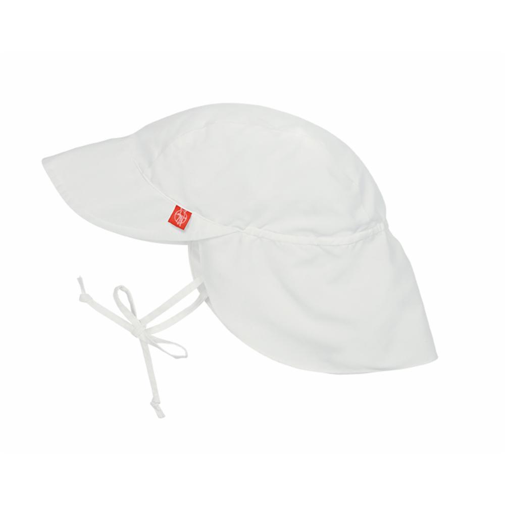 Lässig UV-hattu lipalla, Valk, 7-18 kk