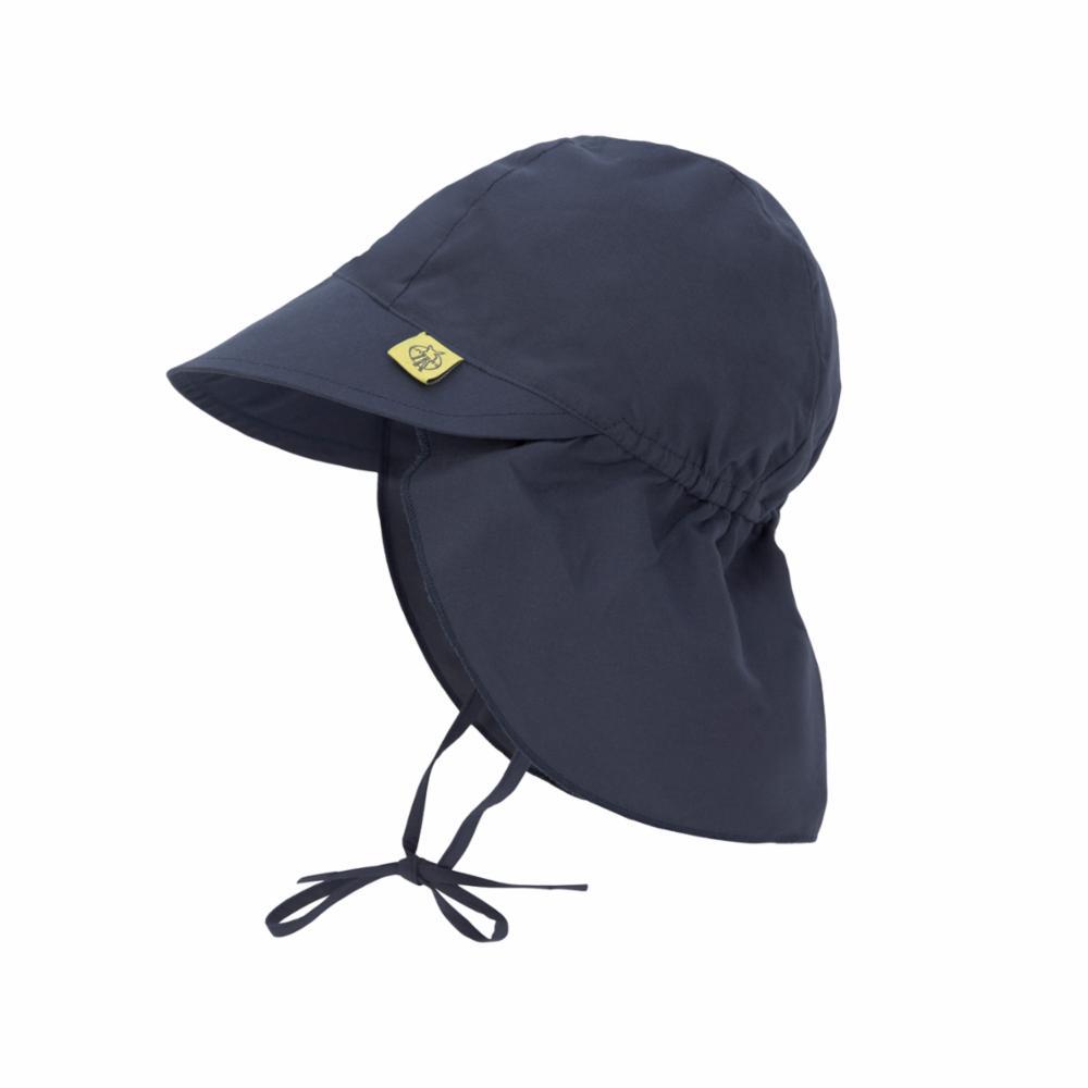 Lässig UV-hattu lipalla, Navy, 3-6 kk