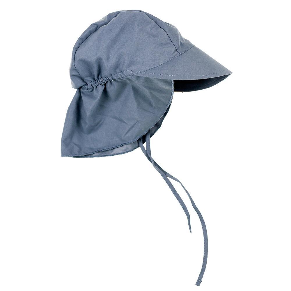 Lässig UV-hattu lipalla, Navy, 7-18 kk