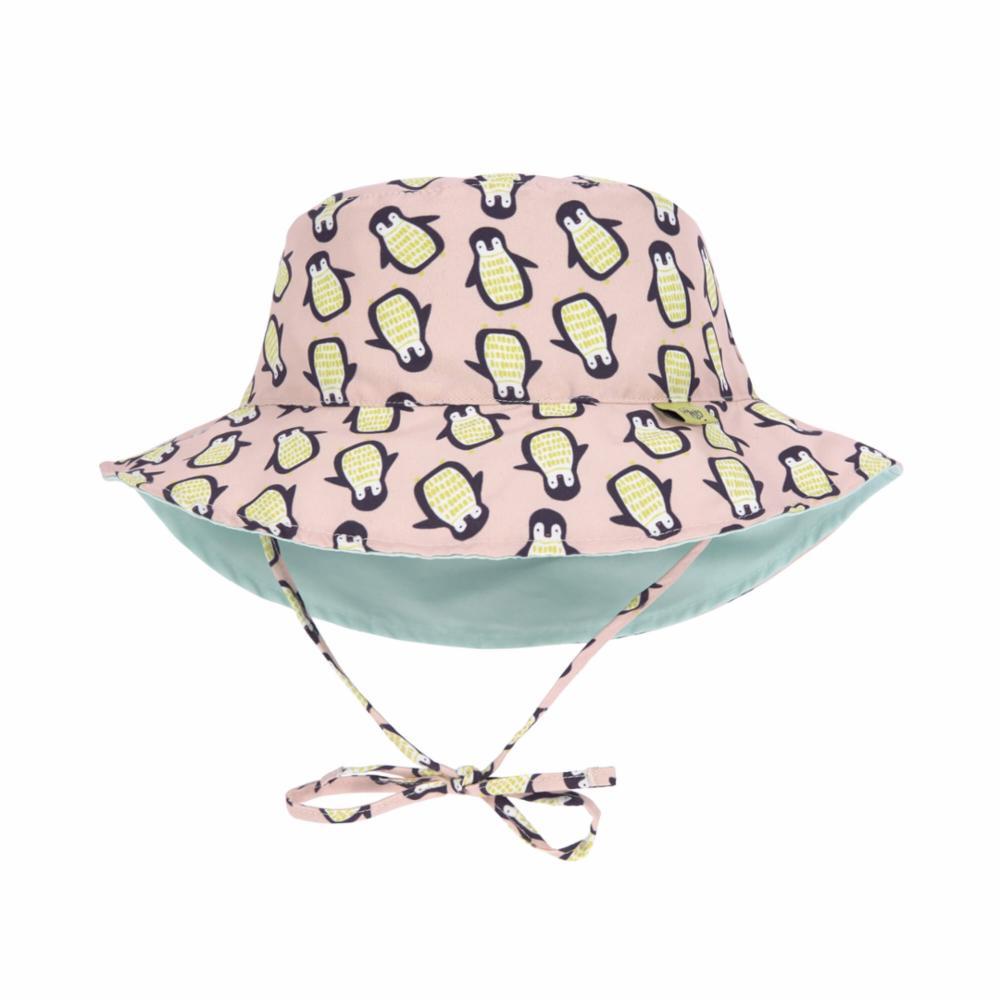 Lässig UV-hattu, Penguin Peach, 0-6 kk